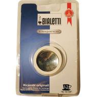 Bialetti RVS Filterplaatje + Rubber Ring 2 kopje