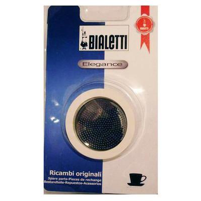 Bialetti RVS Filterplaatje + Rubber Ring 6 kopje