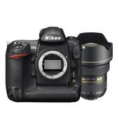 Nikon D3s Body + Nikon AF-S 14-24mm f/2,8 G ED