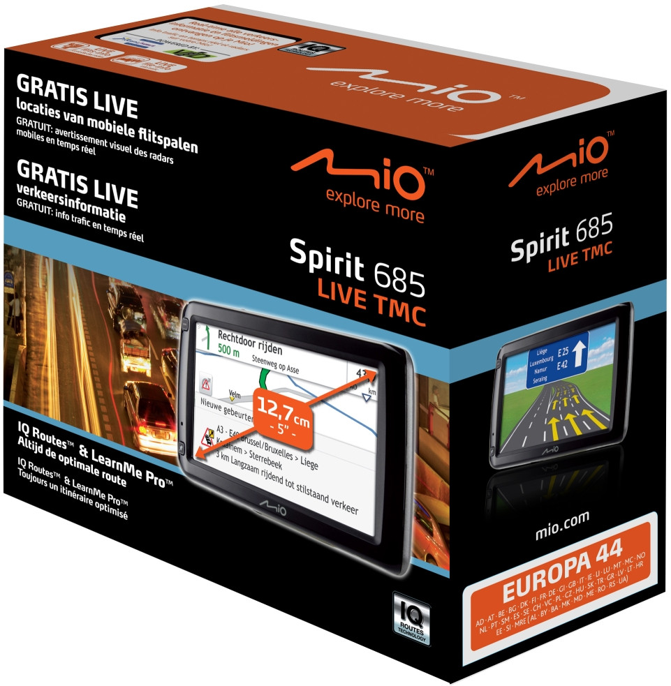 Mio Spirit 685 LIVE TMC