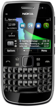 Nokia E6-00 Black QWERTY