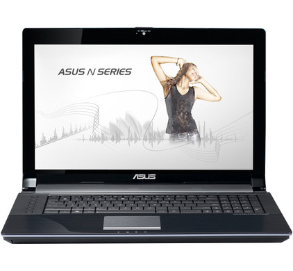 Asus N73SM-TZ055V + Tas + Muis + Office