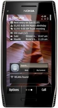 Nokia X7-00 Dark Steel