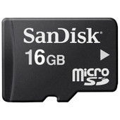 SanDisk Micro SDHC 16 GB