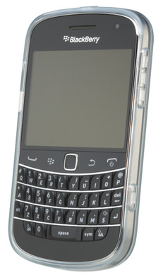 BlackBerry 9900 Soft Shell Case Transparant