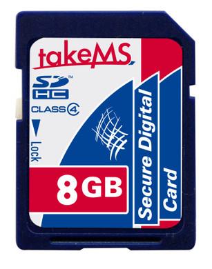 TakeMS SDHC 8 GB Class 4