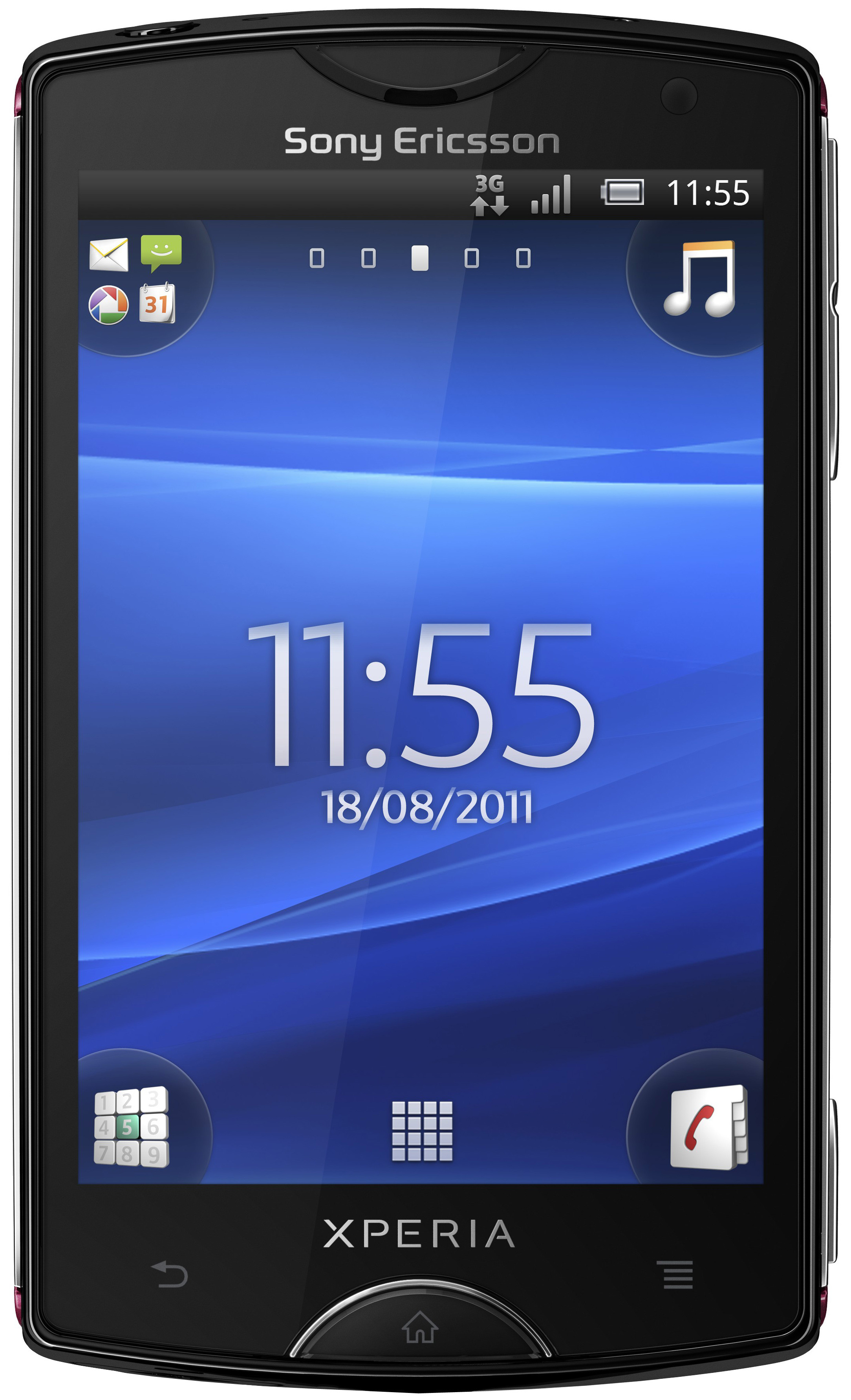 Sony Ericsson Xperia Mini Black