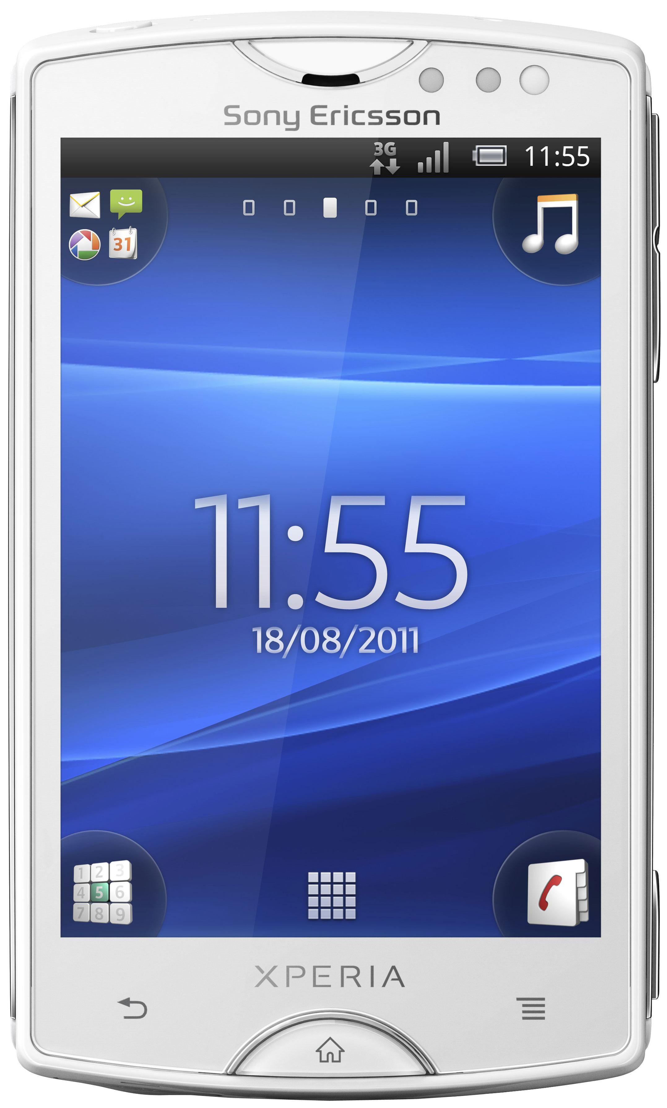 Sony Ericsson Xperia Mini White