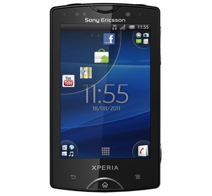 T- Mobile Prepaid Sony Ericsson Xperia Mini Pro Black