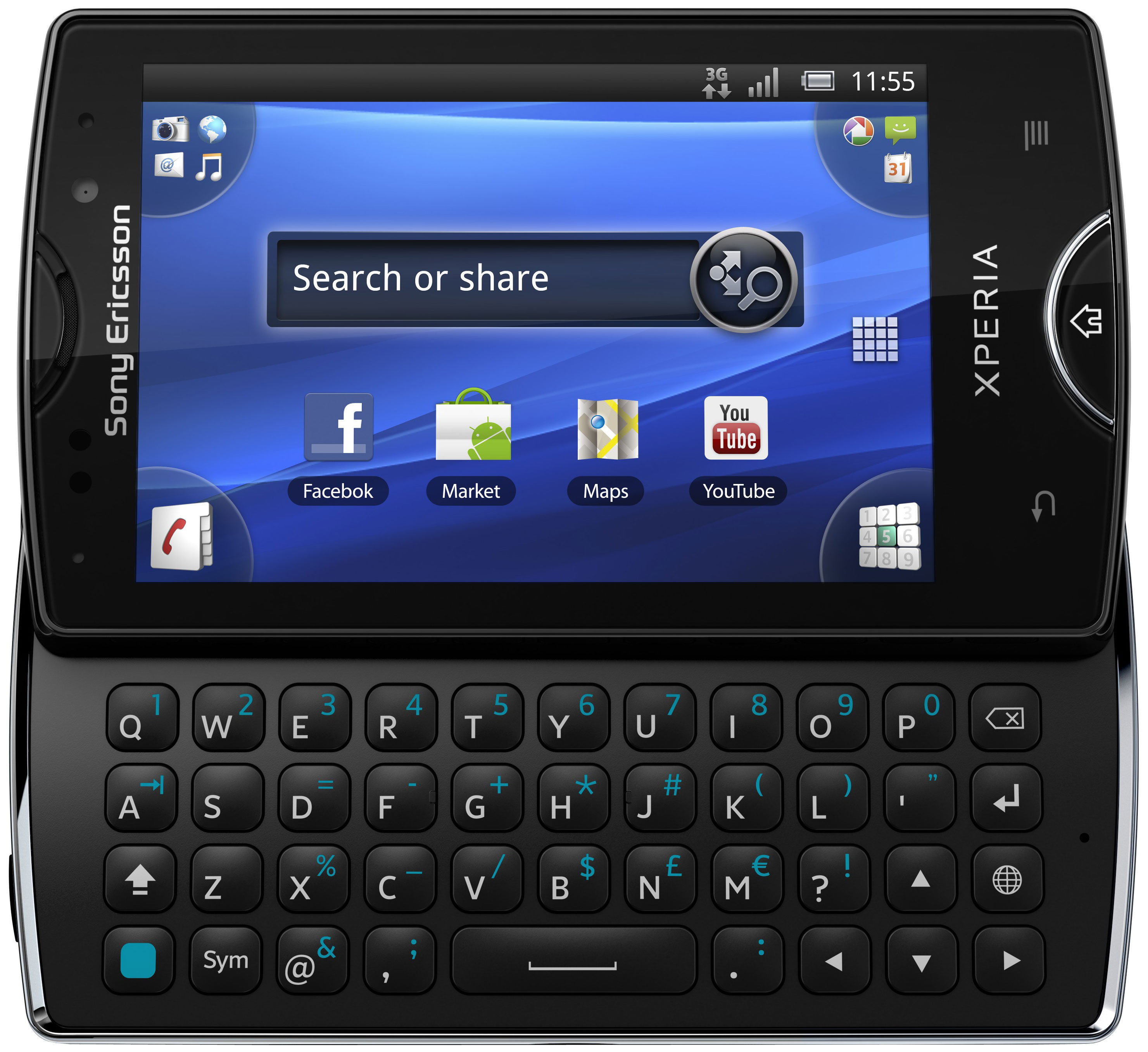 Sony Ericsson Xperia Mini Pro Black