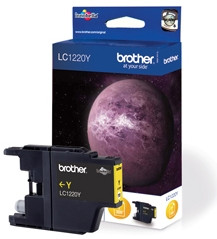 Brother LC-1220Y Cartridge Geel
