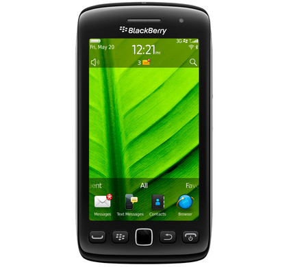 BlackBerry Torch 9860 + Autolader + Screenprotector + Case