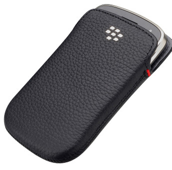 BlackBerry Leather Pocket Black 9900