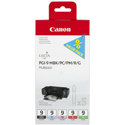 Canon PGI-9 Multi-Pack 2 (MBK/PC/PM/R/G)