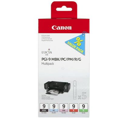 Canon PGI-9 Multi-Pack 2 (MBK/PC/PM/R/G)