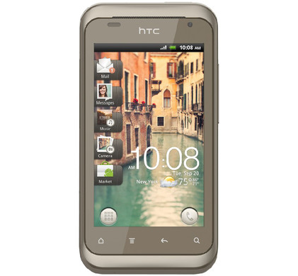 HTC Rhyme + Screenprotectors + Case + Autolader