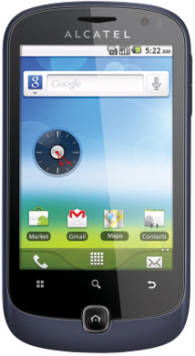 Alcatel OneTouch 990 Carbon Bluish Black