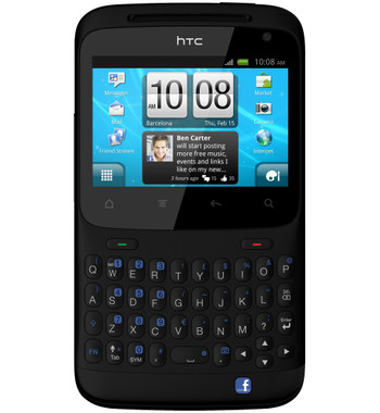 HTC ChaCha QWERTY Black