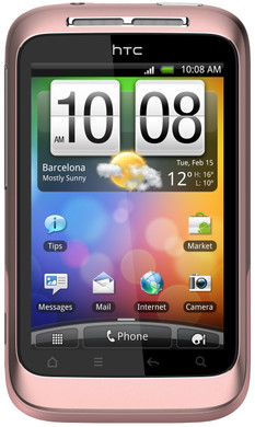 HTC Wildfire S Pink