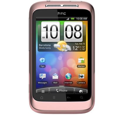HTC Wildfire S Pink