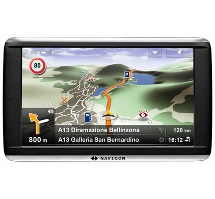 Navigon 72 Premium + Tas + Thuislader