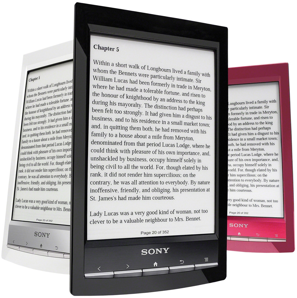 Sony Reader Touch PRS-T1 Red