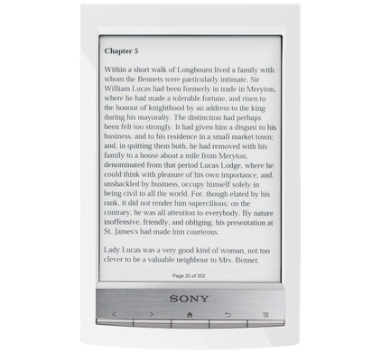 Sony Reader Touch PRS-T1 White
