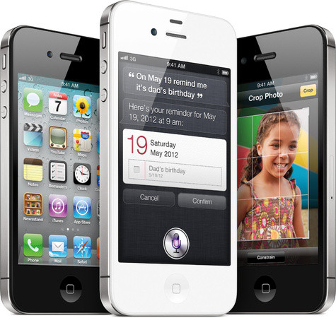 Apple iPhone 4S 16 GB Black Vodafone