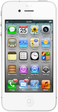 Apple iPhone 4S 16 GB White T-Mobile