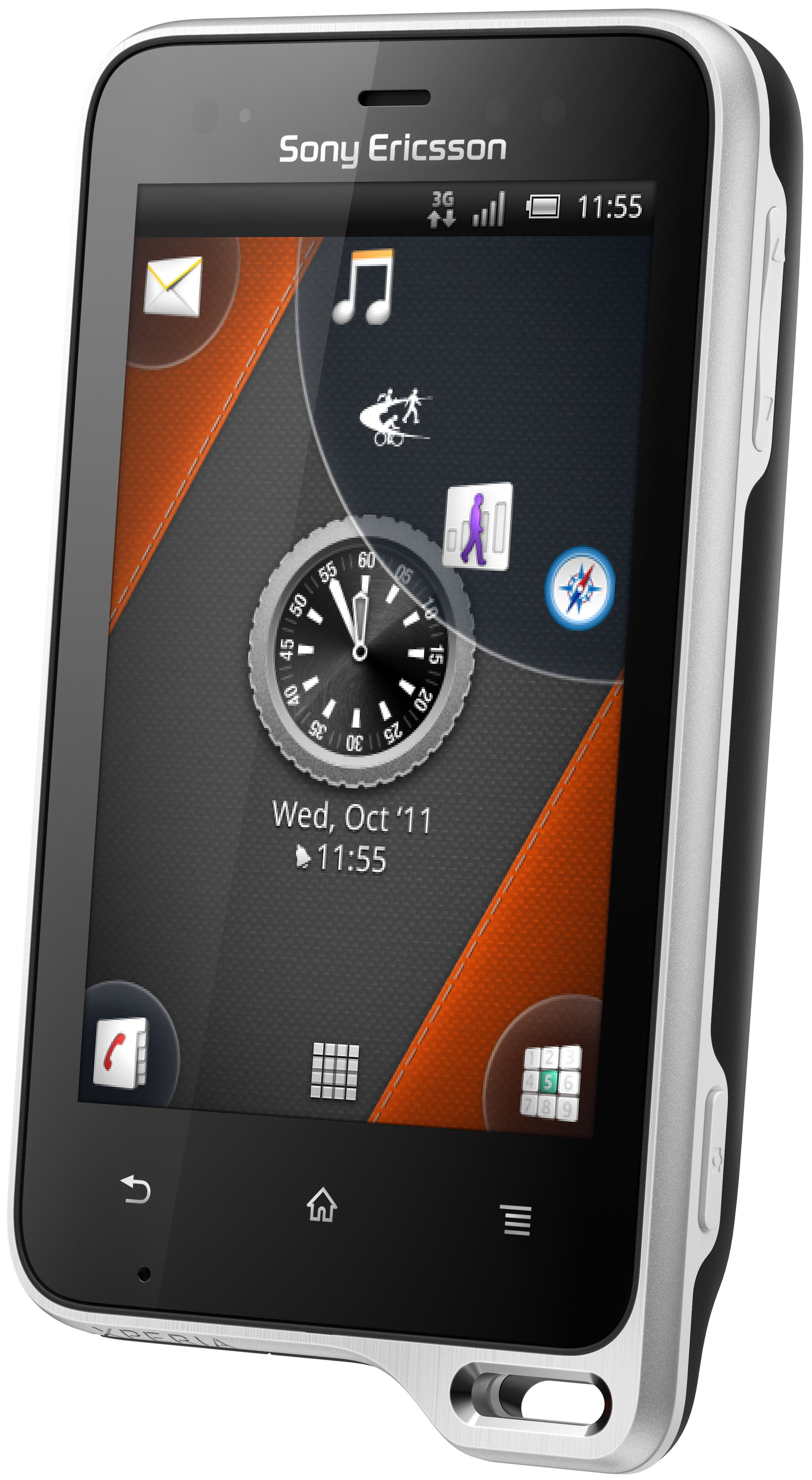 Sony Ericsson Xperia Active Black/White