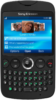Sony Ericsson TXT Black QWERTY