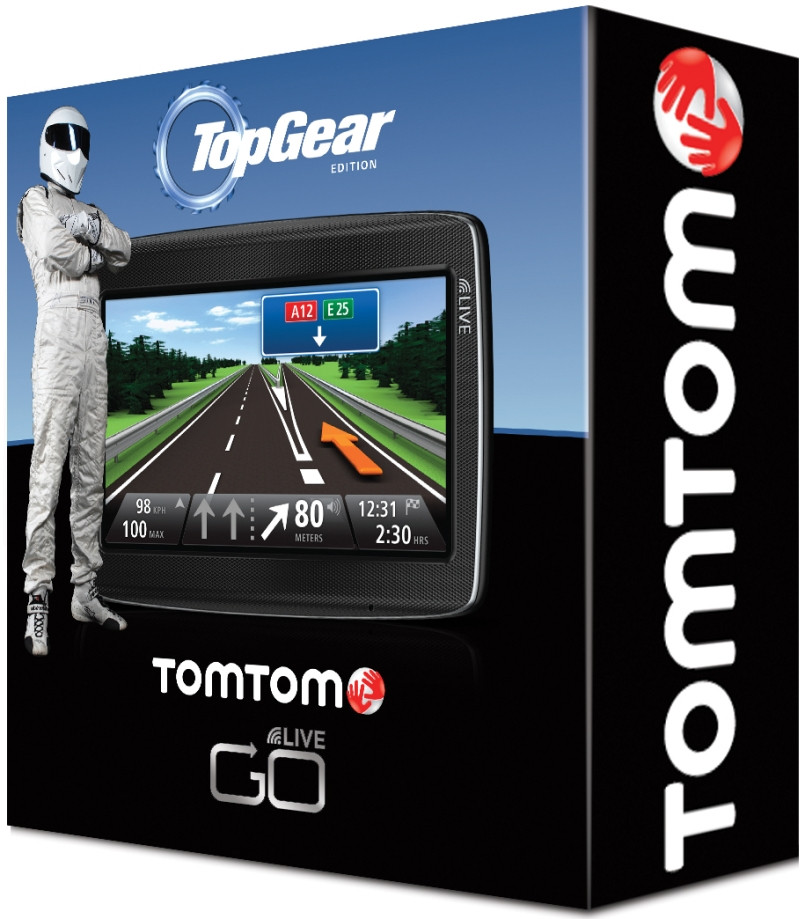 TomTom GO LIVE 820 Top Gear Edition
