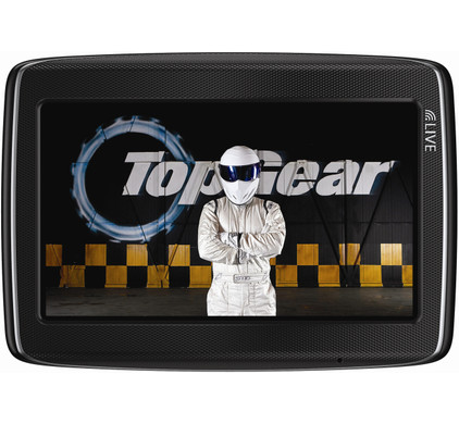 TomTom GO LIVE Top Gear + Tas + High Speed Autolader