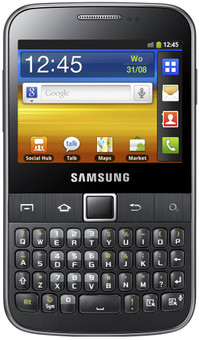 Samsung Galaxy TXT B5510 Cool Grey QWERTY