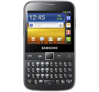 Samsung Galaxy TXT B5510 Cool Grey QWERTY