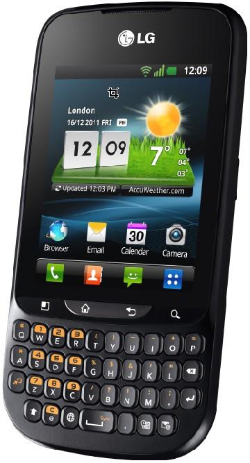 LG Optimus Pro C660 QWERTY