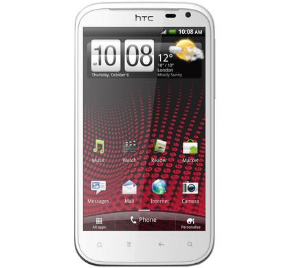 HTC Sensation XL met Beats oordopjes