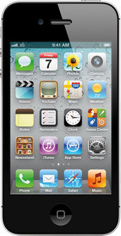 Apple iPhone 4S 64 GB Black Vodafone