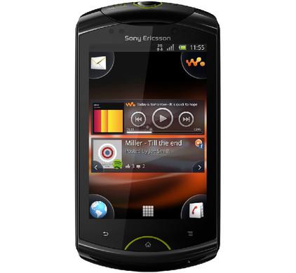 Sony Ericsson Live Walkman + Autolader + Geheugen