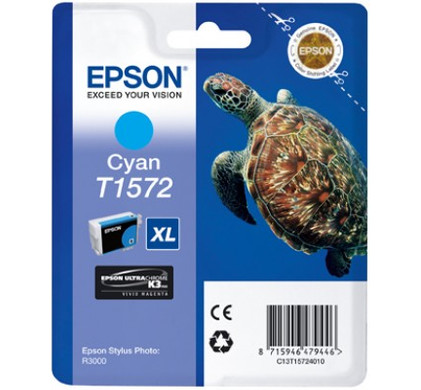 Epson T1572 Cartridge Cyaan (C13T15724010)
