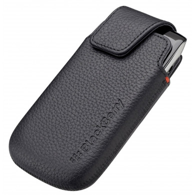 BlackBerry Leather Pocket Black 9860