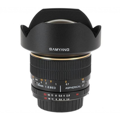 Samyang 14mm f/2.8 Aspherical IF ED UMC Canon