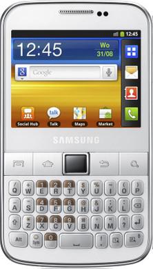 Samsung Galaxy TXT B5510 White Silver