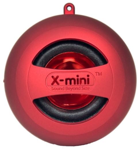 XM-I X-Mini II Capsule Speaker Rood
