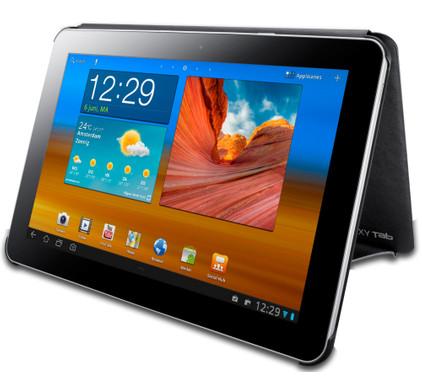Samsung Galaxy Tab 7.7 Book Cover Black