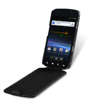 Melkco Leather Case Black Samsung Galaxy Nexus