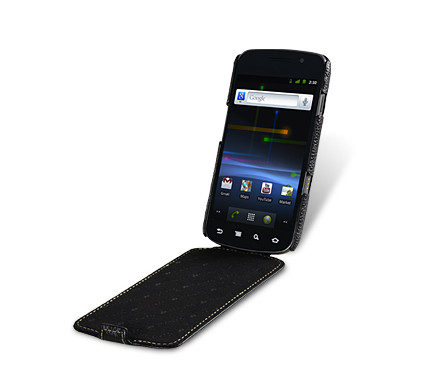 Melkco Leather Case Black Samsung Galaxy Nexus