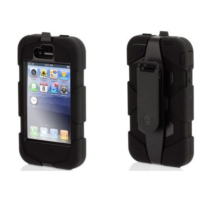 Griffin Survivor Case Apple iPhone 4 / 4S Zwart