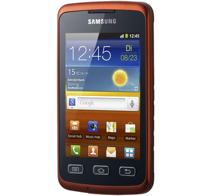 Samsung Galaxy Xcover S5690 Orange Black