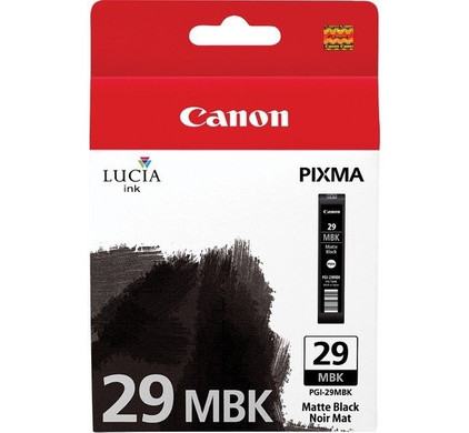 Canon PGI-29MBK Cartridge Mat Zwart (4868B001)